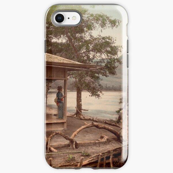Haruna Lake tea house iPhone Tough Case