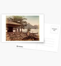 Haruna Lake tea house Postcards