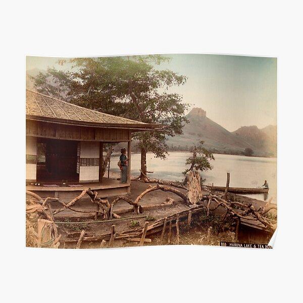 Haruna Lake tea house Poster