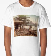 Haruna Lake tea house Long T-Shirt