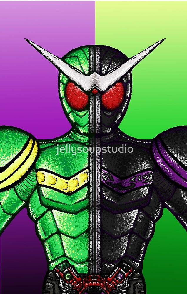 Kamen Rider Double by jellysoupstudio
