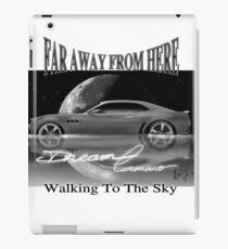 Walking to the sky-Dream Camaro iPad Case/Skin