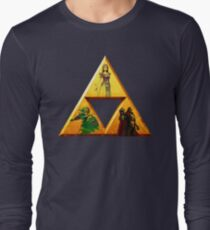 Triforce - The Legend Of Zelda Long Sleeve T-Shirt