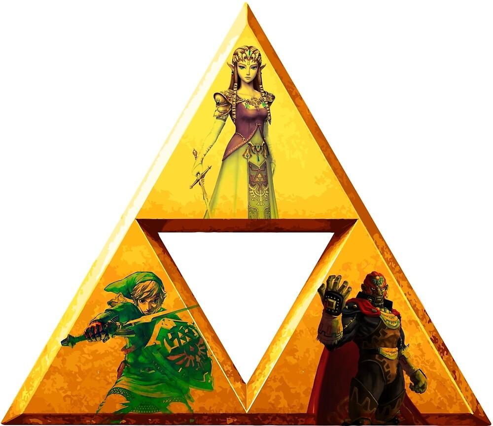 Triforce - The Legend Of Zelda by BisharpTheRangr