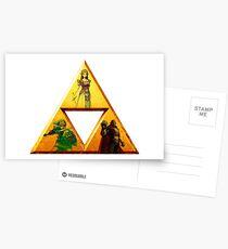 Triforce - The Legend Of Zelda Postcards