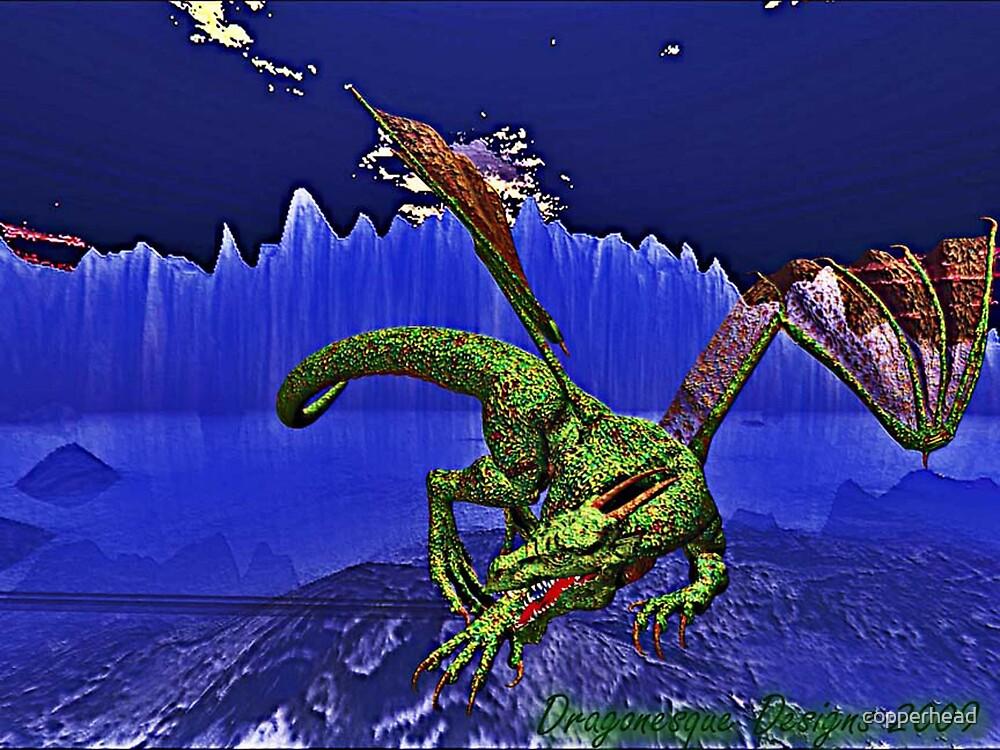 Dragonesque Fierocity by copperhead