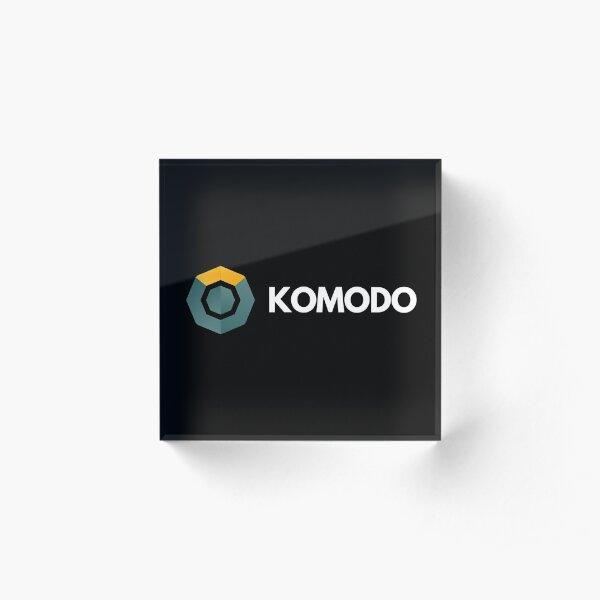 Komodo Acrylic Block