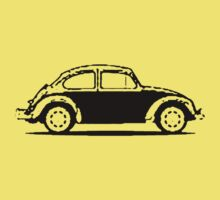 VW 1961 Beetle Shirt - Black