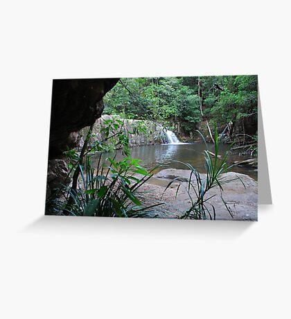 Waitui Falls Greeting Card