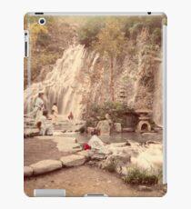 Tamadare waterfall at Yumoto, Japan iPad Case/Skin