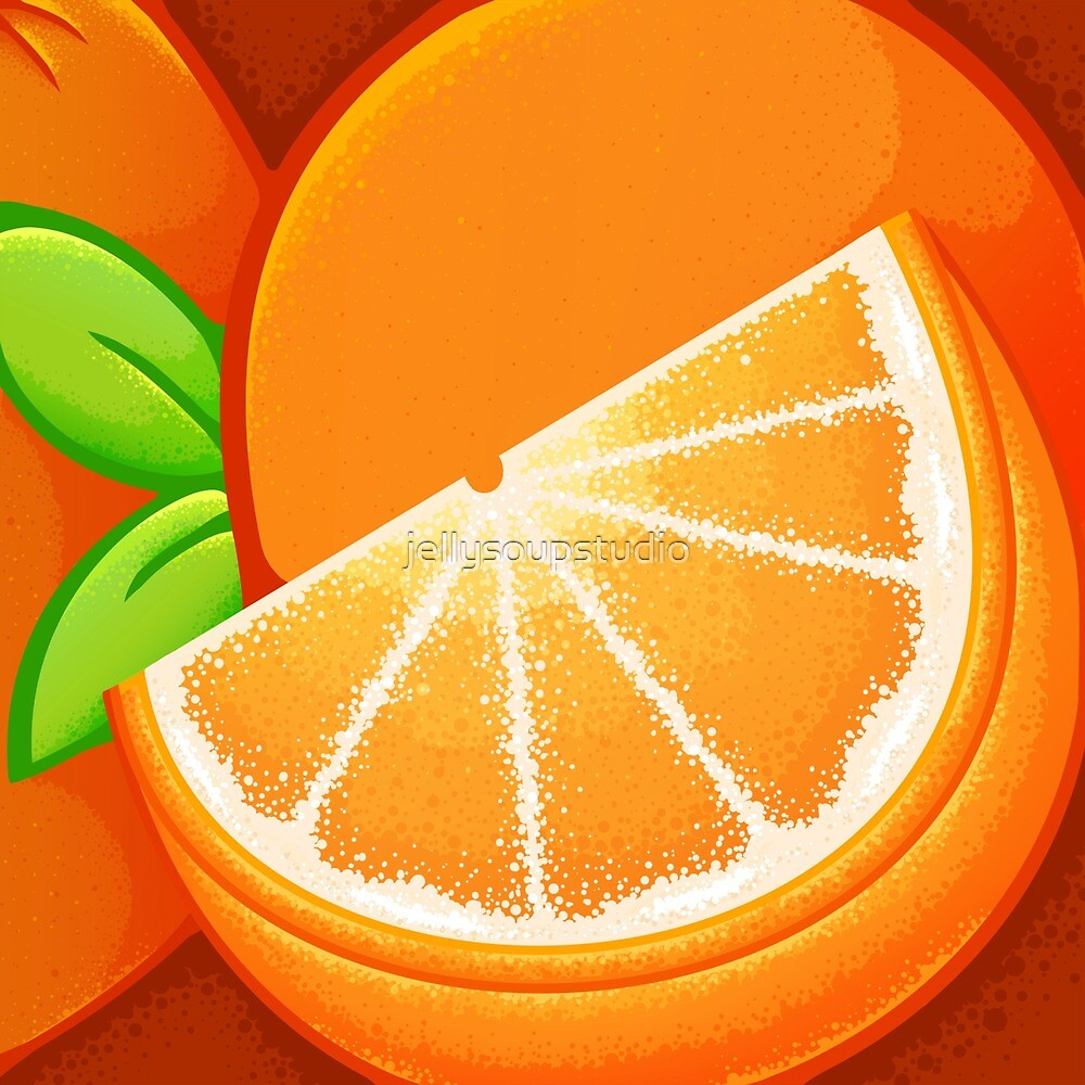 Orange by jellysoupstudio