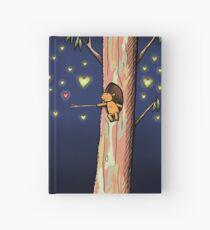Cute Ringo Possum Love Heart Catching Hardcover Journal