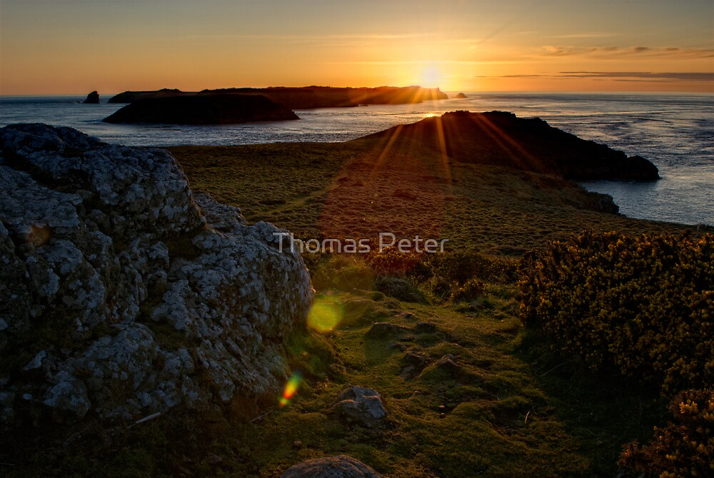 Pembrokeshire Sunset by Thomas Peter