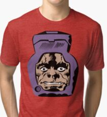 Arnim Zola Chest Face Kirby Tri-blend T-Shirt