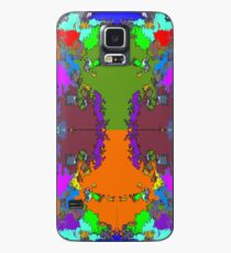 ABSTRACT GRAPHIC PRINT { BIG COUNTRY} BY JANE HOLLOWAY Case/Skin for Samsung Galaxy