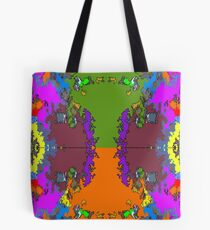 ABSTRACT GRAPHIC PRINT { BIG COUNTRY} BY JANE HOLLOWAY Tote Bag