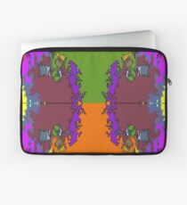 ABSTRACT GRAPHIC PRINT { BIG COUNTRY} BY JANE HOLLOWAY Laptop Sleeve