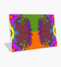 ABSTRACT GRAPHIC PRINT { BIG COUNTRY} BY JANE HOLLOWAY Laptop Skin