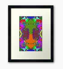 ABSTRACT GRAPHIC PRINT { BIG COUNTRY} BY JANE HOLLOWAY Framed Print