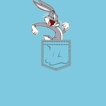 Bugs Bunny in my Pocket by ainecreative