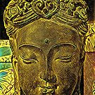 Golden Kuan Yin by DesJardins