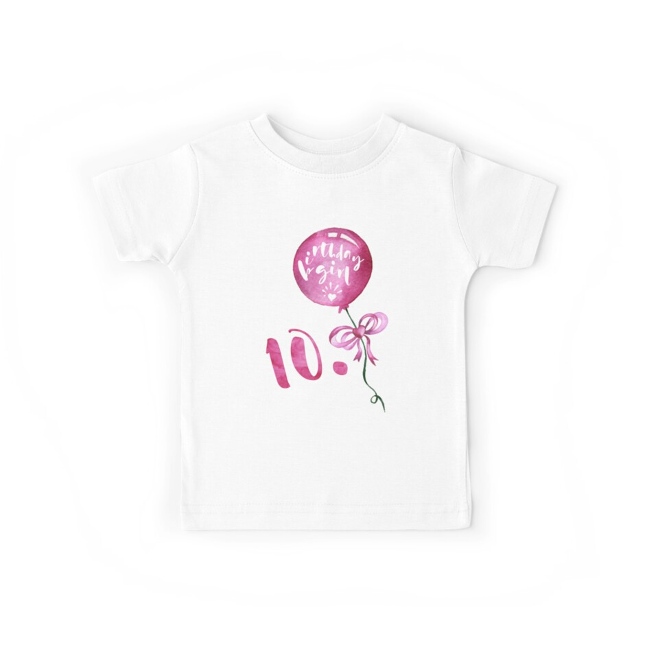 10th Birthday Girl Anniversary Girls Gifts