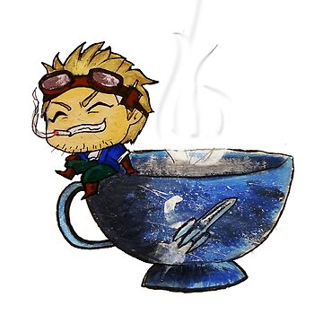 Drink your g*dd*mn tea by Ghostsartstore