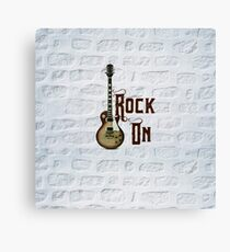 Rock On! Canvas Print
