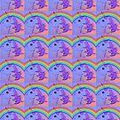 Rainbow Unicorn Collage by theseRmyDesigns