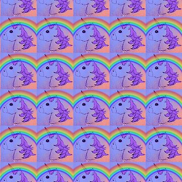 Rainbow Unicorn Collage by theseRmyDesigns
