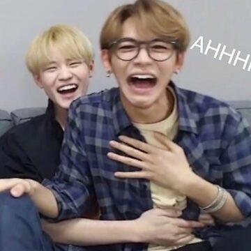 """NCT Lucas """"AHHH"""" meme by mapao"""