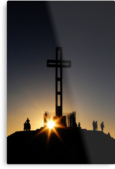 Easter Cross by L.D. Franklin