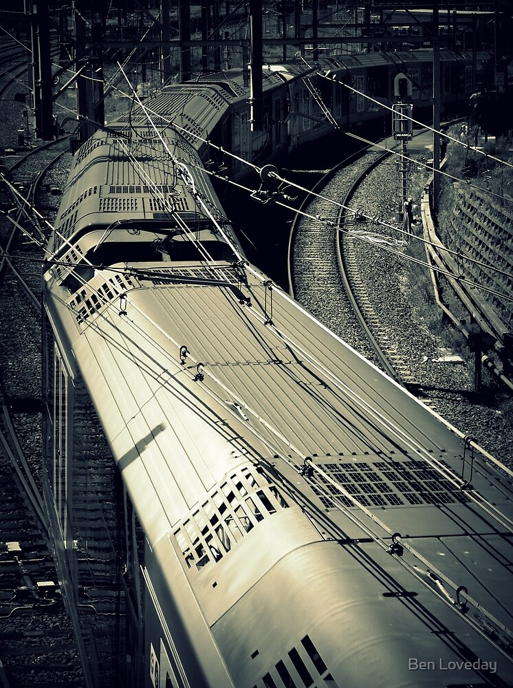 The Train Has Left The Station by Ben Loveday