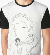 Princess Leia/Carrie Fisher Graphic T-Shirt
