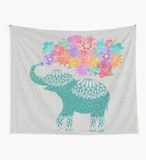 Lulu the Elephant Wall Tapestry