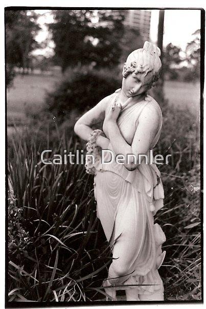 Female Statue in Hermann Park, Houston by Caitlin Dennler
