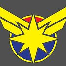 Air Force Superhero Logo by Patrick King