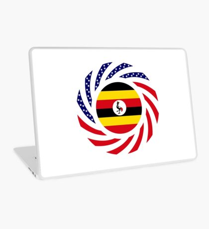 Ugandan American Multinational Patriot Flag Series Laptop Skin