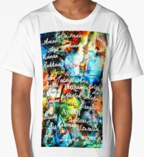 Love in Many Languages Long T-Shirt
