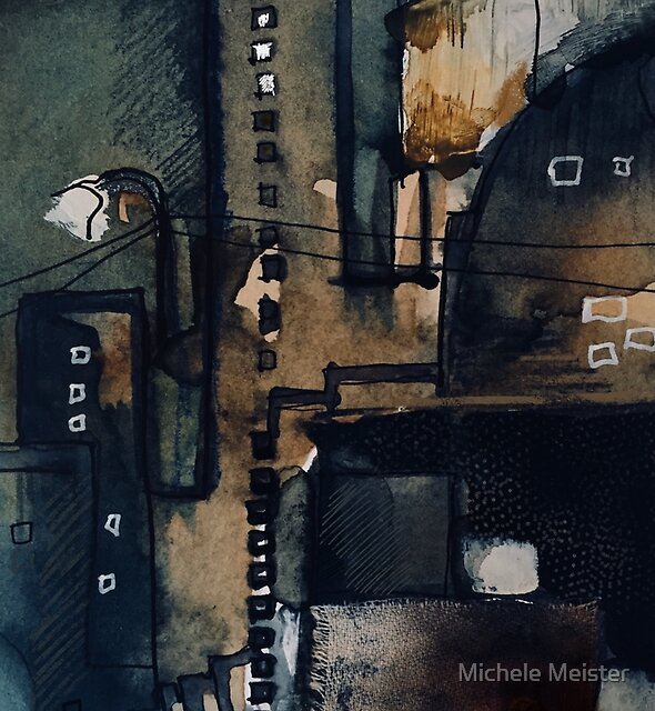 City darkness  by Michele Meister