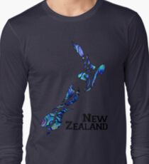 Fluid Nouvelle-Zélande T-shirt manches longues