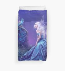 Luminescent Fairy & Dragon Art Duvet Cover