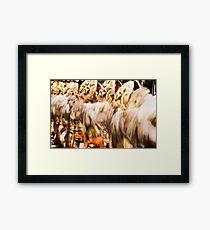 Move Framed Print