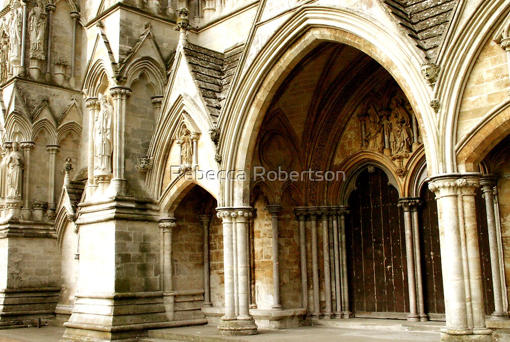 Salisbury Cathedral by Rebecca Robertson