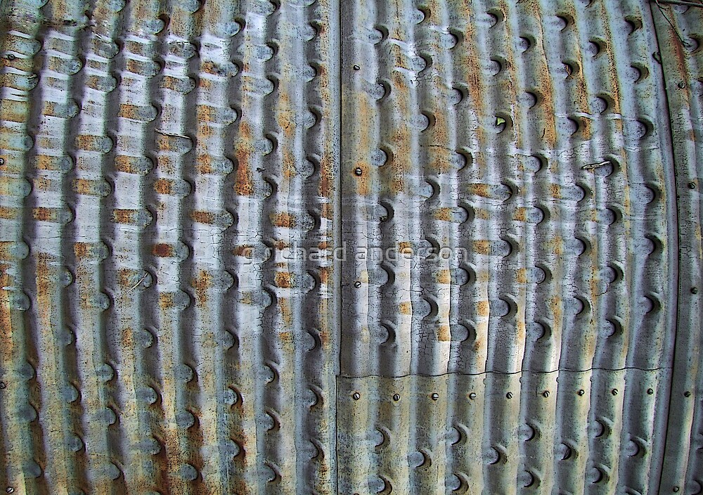 corrugated metal by g richard anderson