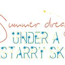 Summer Dreams Starry Sky by StarVia