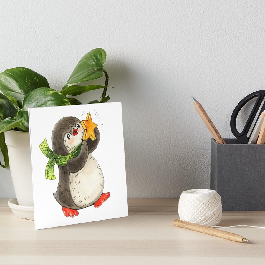 penguin by lamarmarina