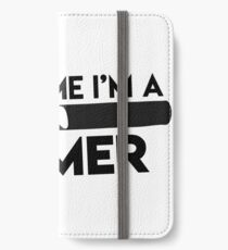"funny ""trust me i´m a gamer"" Design for Shirt und more iPhone Wallet/Case/Skin"