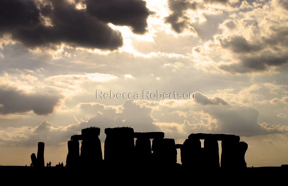 An Afternoon at Stonehenge by Rebecca Robertson