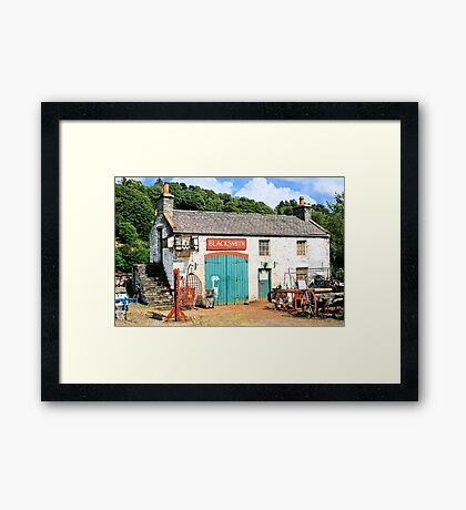 Junk And Disorderly Framed Print